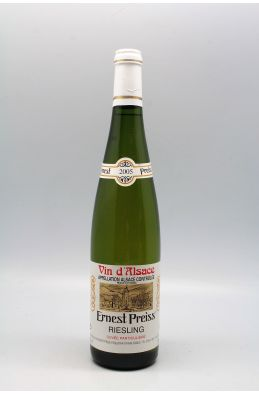 Ernest Preiss Alsace Riesling 2005