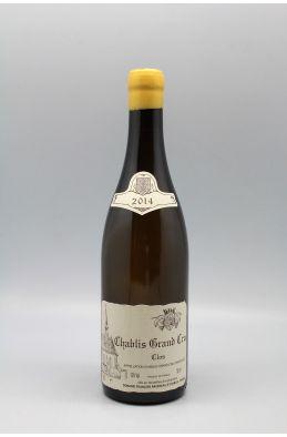 Raveneau Chablis Grand cru Clos 2014
