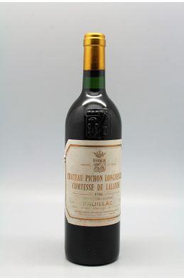 Pichon Longueville Comtesse de Lalande 1986 -5% DISCOUNT !