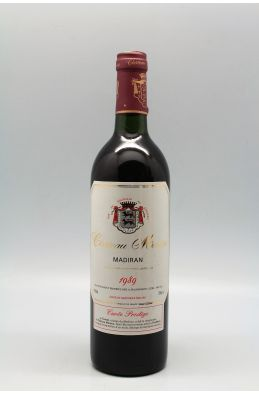 Montus Madiran Cuvée Prestige 1989