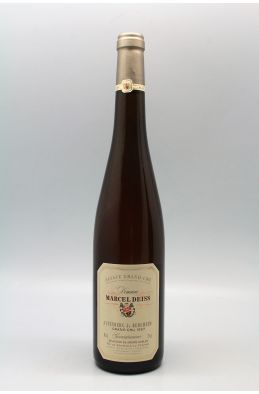 Marcel Deiss Alsace Grand cru Gewurztraminer Altenberg de Bergheim Sélection de Grains Nobles 1997