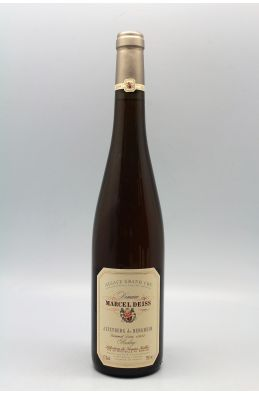 Marcel Deiss Alsace Grand cru Riesling Altenberg de Bergheim Sélection de Grains Nobles 1997