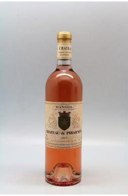 Pibarnon 2017 rosé