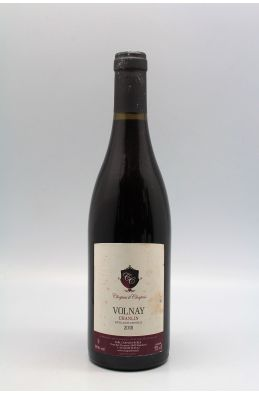 Chapuis Frères Volnay Chanlin 2018