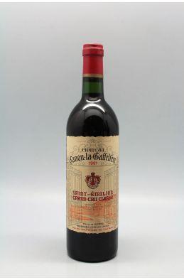 Canon La Gaffelière 1981