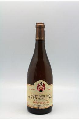Ponsot Morey Saint Denis 1er cru Clos Des Monts Luisants Vieilles Vignes 2005 blanc -5% DISCOUNT !