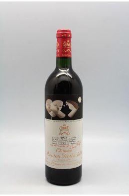 Mouton Rothschild 1986