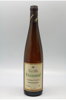 Gisselbrecht Alsace Gewurztraminer Vendanges Tardives 2007