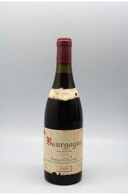 Georges Roumier Bourgogne 1990