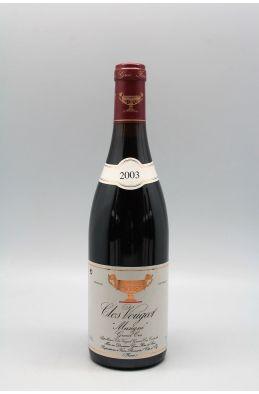 Gros Frère et Soeur Clos Vougeot Musigni 2003