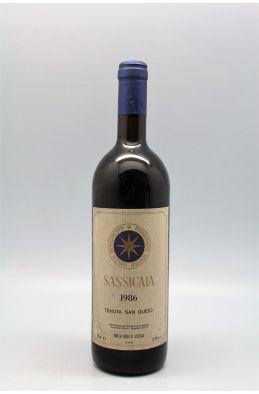 Tenuta San Guido Sassicaia 1986