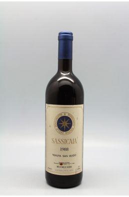 Tenuta San Guido Sassicaia 1988