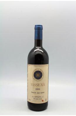 Tenuta San Guido Sassicaia 1991