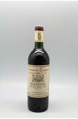 Tempier Bandol cuvée spéciale La Tourtine 1987