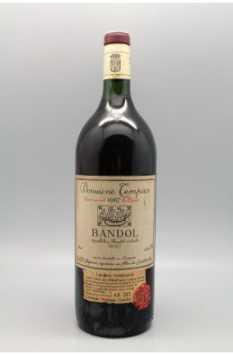 Tempier Bandol cuvée spéciale La Migoua 1987 Magnum