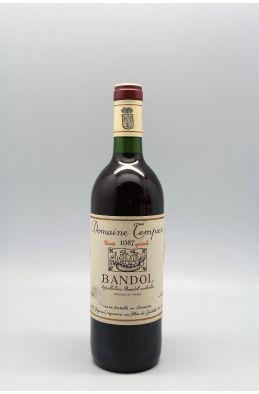 Tempier Bandol cuvée spéciale 1987