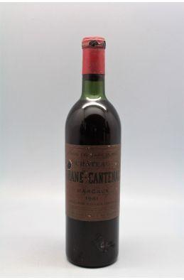 Brane Cantenac 1961 - PROMO -5% !