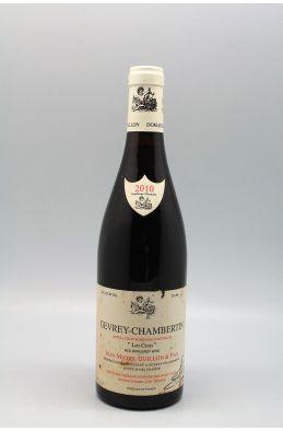 Jean Michel Guillon Gevrey Chambertin Les Crais 2010 - PROMO -5% !