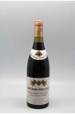 Bouchard P&F Nuits Saint Georges 1er cru Clos Saint Marc 1988