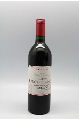 Lynch Bages 1986