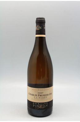 Pinson Chablis 1er cru La Forêt 2007