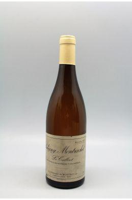De Montille Puligny Montrachet 1er cru Le Cailleret 2001