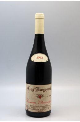 Clos Rougeard Saumur Champigny Le Bourg 2012