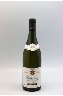 Foreau Vouvray Sec 2007