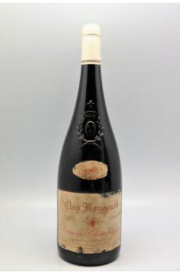 Clos Rougeard Saumur Champigny Le Bourg 1989 Magnum - PROMO -10% !