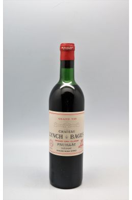 Lynch Bages 1970 -10% DISCOUNT !