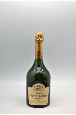 Taittinger Comte de Champagne 1989