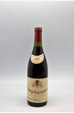 Joseph Matrot Auxey Duresses 1997