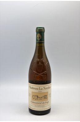 La Nerthe Châteauneuf du Pape 2000 blanc
