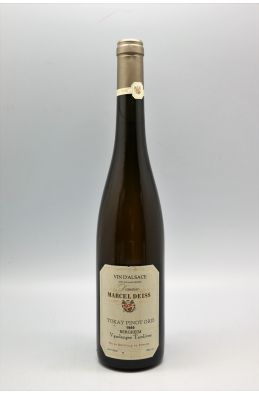 Marcel Deiss Alsace Tokay Pinot Gris Bergheim Vendanges Tardives 1989