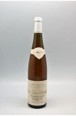 Schoffit Alsace Grand Cru Riesling Rangen de Thann Clos Saint Théobald Vendanges Tardives 1998
