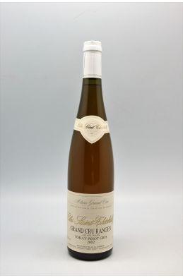 Schoffit Alsace Grand Cru Tokay Pinot Gris Rangen de Thann Clos Saint Théobald Vendanges Tardives 1998