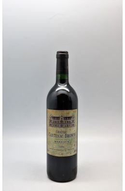 Cantenac Brown 1996 - PROMO -10% !