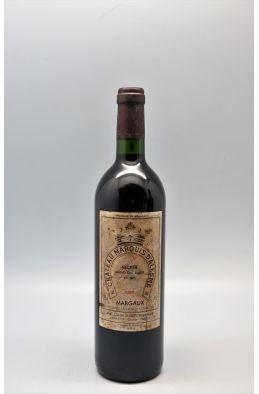 Marquis d'Alesme 1999 -10% DISCOUNT !