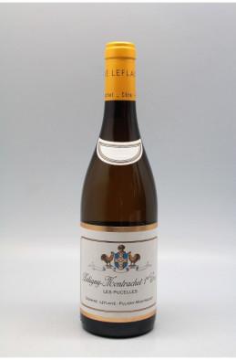 Domaine Leflaive Puligny Montrachet 1er cru Les Pucelles 2018