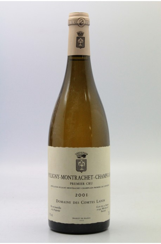 Comtes Lafon Puligny Montrachet 1er Cru Champ Gain 2001
