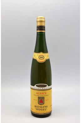 Hugel Alsace Riesling Vendanges Tardives 1989