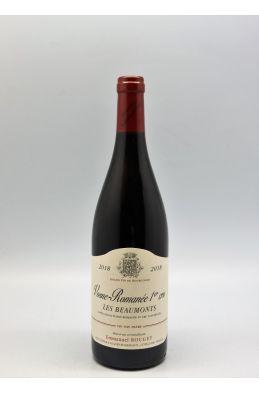 Emmanuel Rouget Vosne Romanée 1er cru Les Beaumonts 2018 OC
