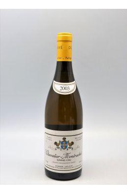 Domaine Leflaive Chevalier Montrachet 2003