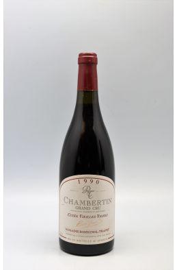 Rossignol Trapet Chambertin Cuvée Vieilles Vignes 1990