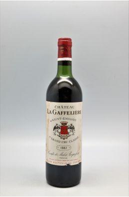 La Gaffelière 1982 - PROMO -5% !