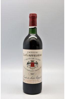 La Gaffelière 1987