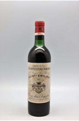 La Gaffelière 1962