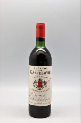 La Gaffelière 1980