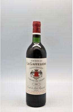 La Gaffelière 1981