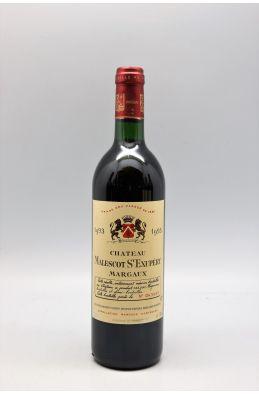Malescot Saint Exupéry 1993